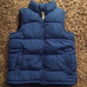 Old Navy quilted fleece lined puffer vest L